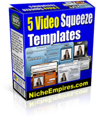 Product picture 5 New Video Squeeze Templates plr