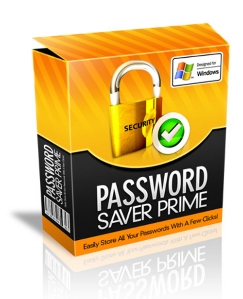 Product picture Password Saver Prime .zip
