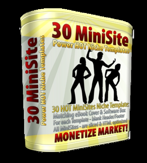 Product picture 30 MiniSiteTemplates.zip