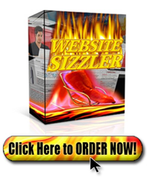 Product picture Website Sizzler  PLR .zip
