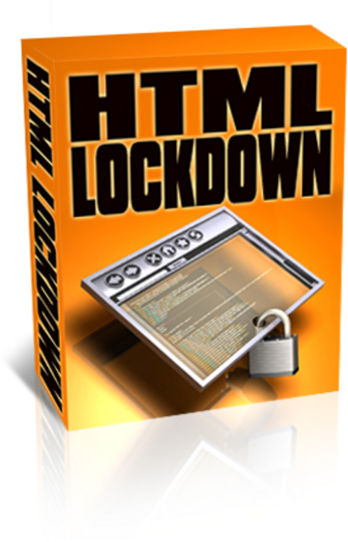 Product picture HTML Lockdown (PLR).zip