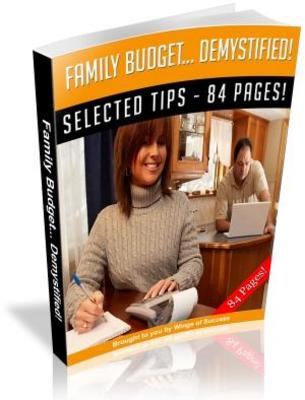 Product picture Family Budget Demystified MRR