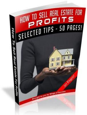 Product picture How To Sell Real Estate For Profits MRR