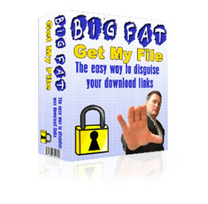 Product picture The Big Fat Get My File Download Script MRR