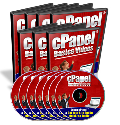 Product picture cPanel Basics Videos MRR