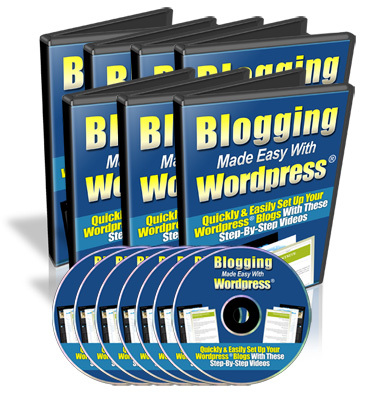 Product picture Blogging Made Easy With Wordpress MRR