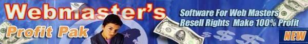 Product picture webmasters profit pak mrr