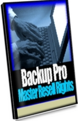 Product picture Backup Pro master resale rights