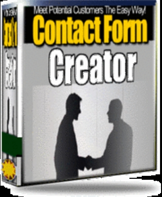 Product picture Contact Form Creator MRR