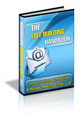 Product picture List Building Handbook (MRR)2010